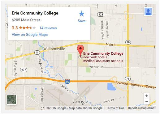 Ecc North Campus Map Campus Maps   Erie Community College   Acalog ACMS™