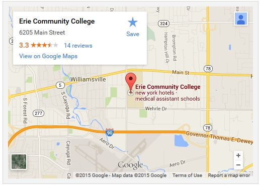 Campus Maps   Erie Community College   Acalog ACMS™
